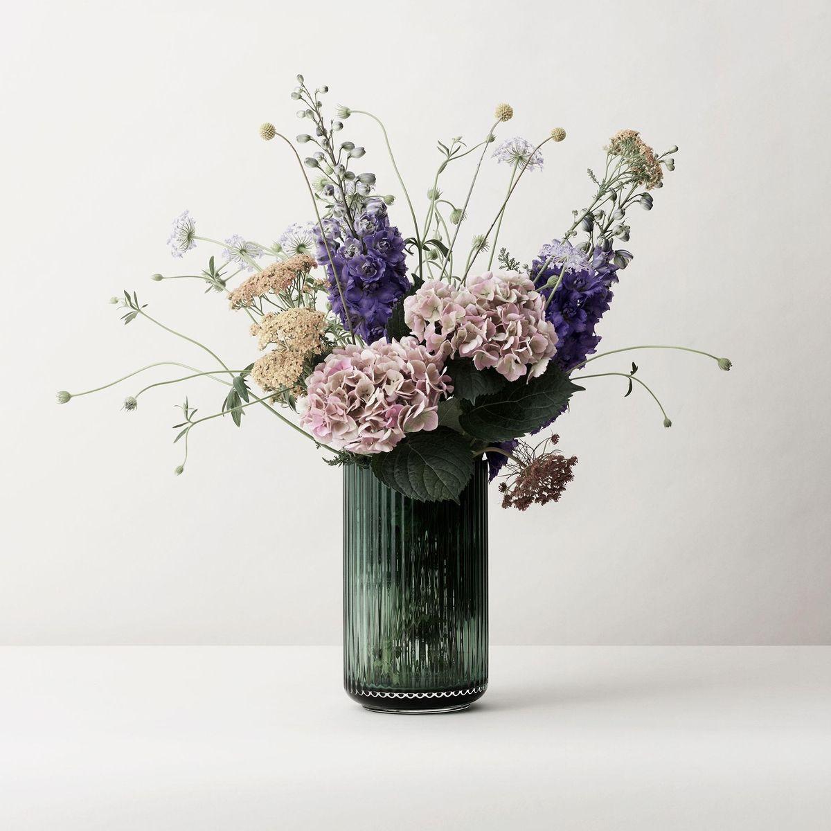 lyngby glass vase h25cm lyngby porcel n. Black Bedroom Furniture Sets. Home Design Ideas