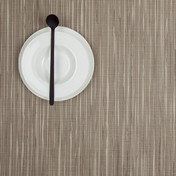 Chilewich - Rib Weave Tischset 36x48cm - coconut/2 Stück
