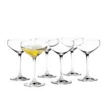 Holmegaard - Set de 6 verres à cocktail Perfection