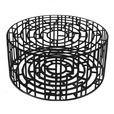 Moroso - Kub Hocker / Beistelltisch Stahl