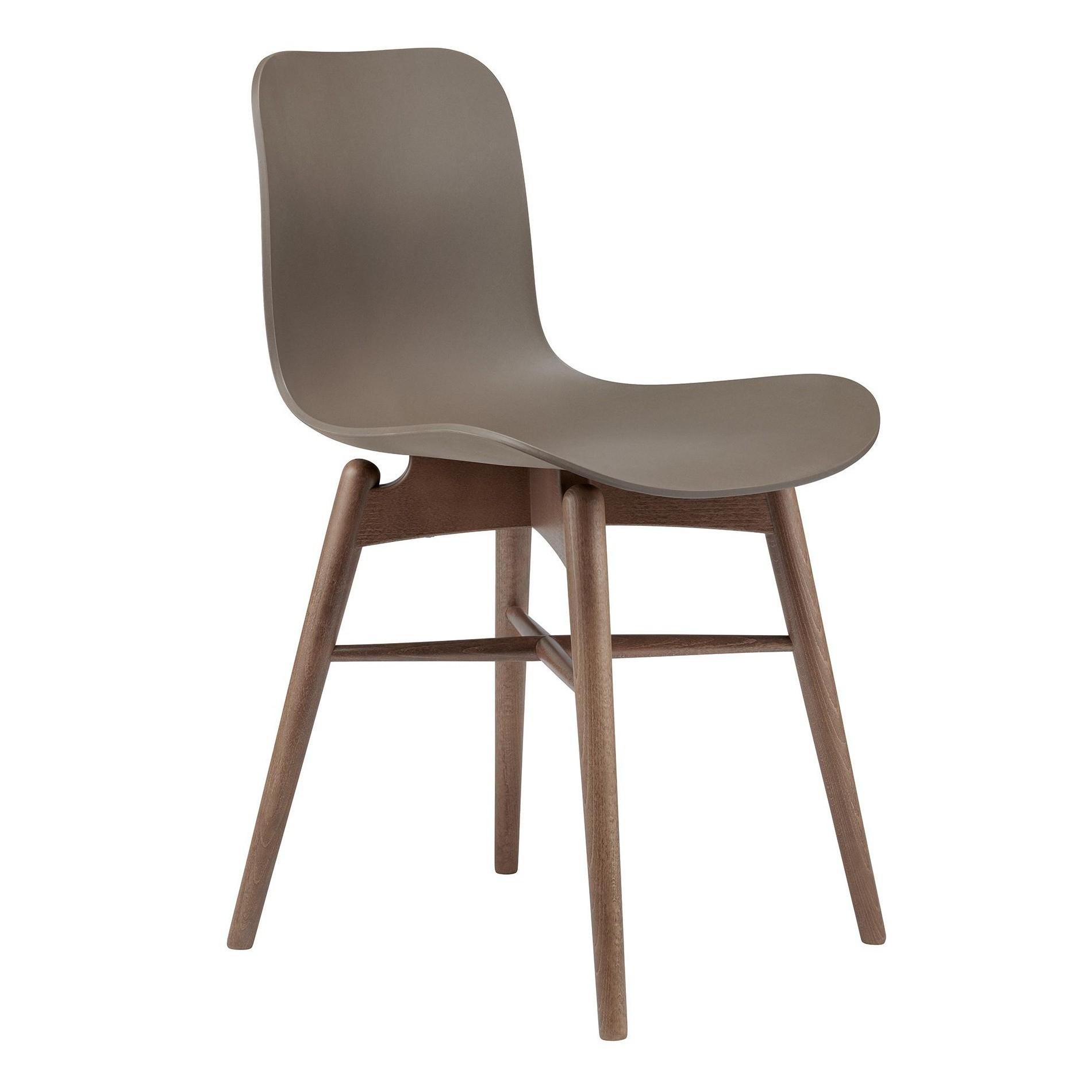 Langue Original Chair Smoked Beech Base