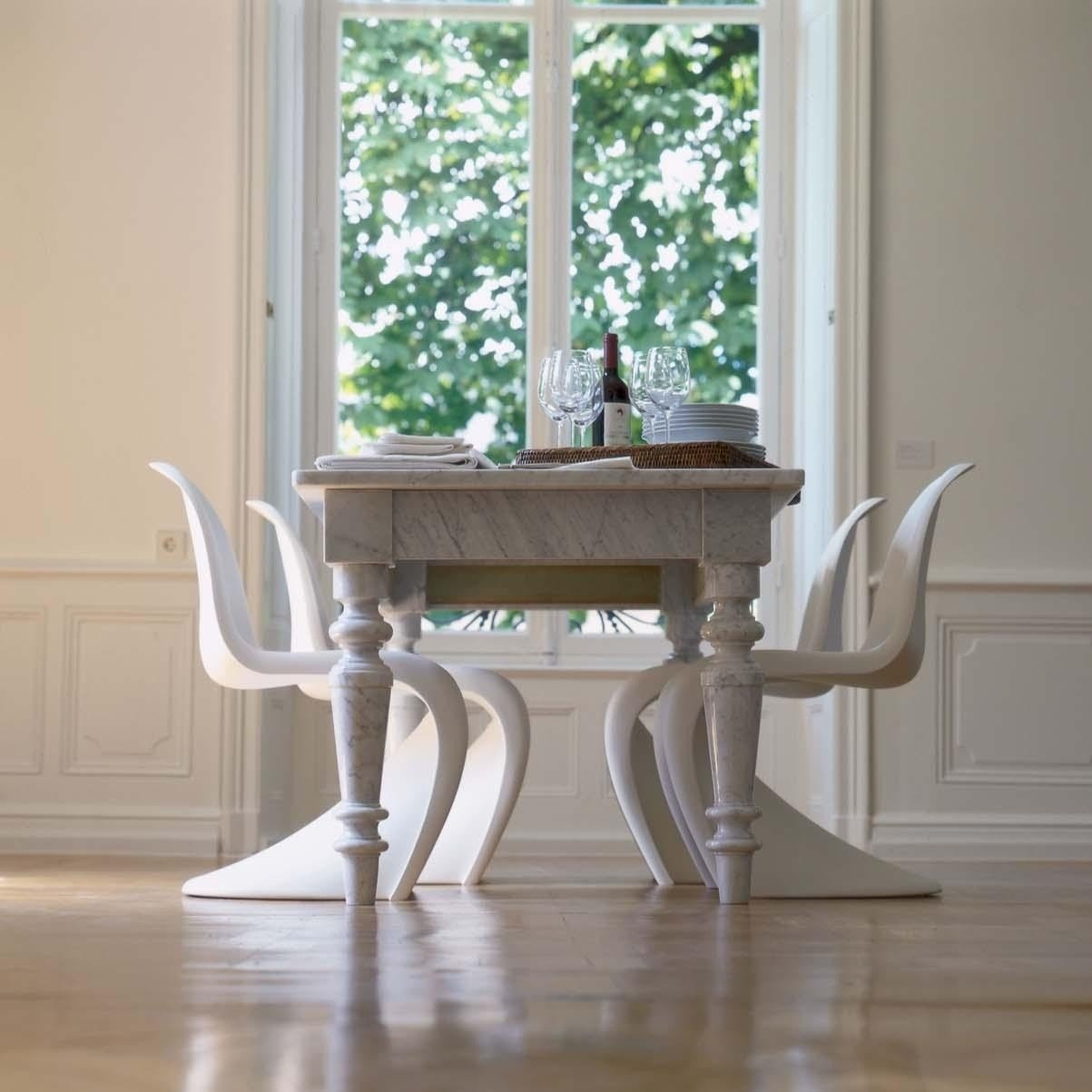 vitra panton chair promotion set of 4 ambientedirect