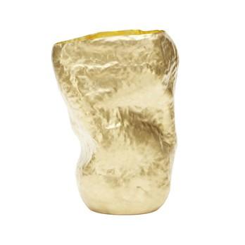 Tom Dixon - Bash Tall Vase  - messing/HxB 52x35cm