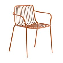 Pedrali - Chaise de jardin avec accoudoir/dossier bas Nolita 3655