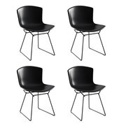 Knoll International - Bertoia Plastic Side Chair 4 Piece Set