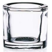 iittala - Kivi Tealight Holder 80mm - transparent/transparent