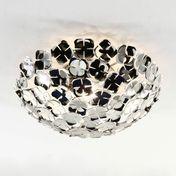 Terzani - Ortenzia Ceiling Light Small - nickel/metal/Ø 45cm