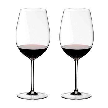 Riedel - Sommeliers Bordeaux Rotweinglas 2er Set - transparent/H 27cm, 860ccm/Geschenkbox