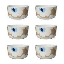 Marimekko - Oiva/Unikko Bowl Set of 6