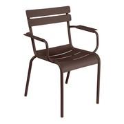 Fermob - Chaise de jardin avec accoudoirs Luxembourg