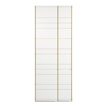Moormann - Moormann K1 Schrank/Kleiderschrank - weiß/mit Kleiderstange & 7 Einlegeböden/87x222cm/Türanschläge rechts