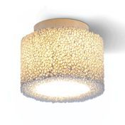 Serien - Reef LED Ceiling Lamp - ivory/frame alu matt/incl. operational unit/2700K
