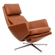 Vitra - Fauteuil Grand Relax cuir