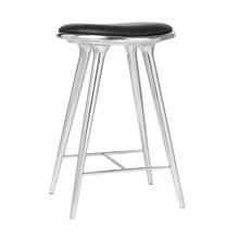 Mater - High Stool Aluminium Base H 69cm