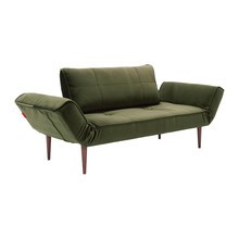 Innovation - Zeal Styletto Schlafsofa Samt 180x70cm