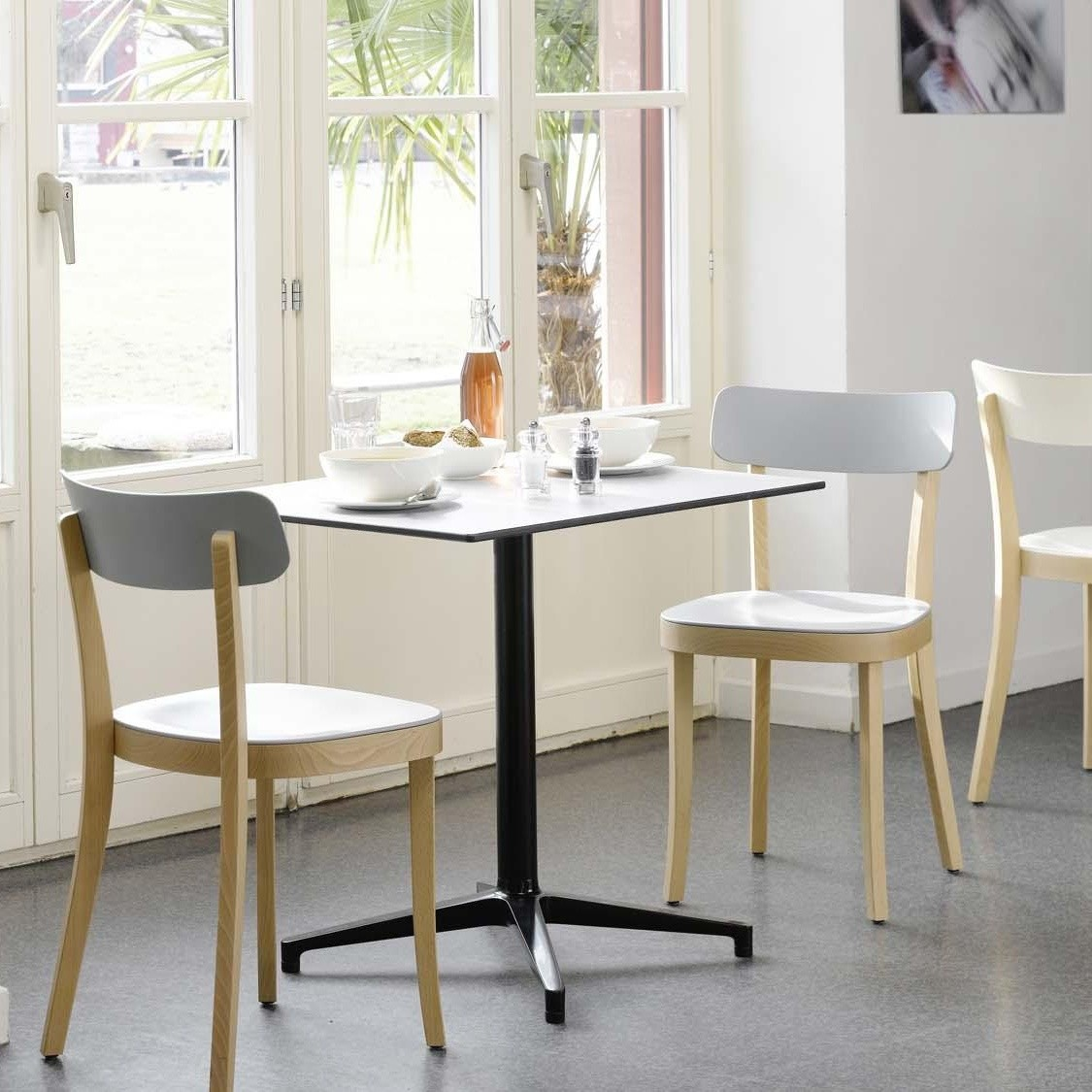 bistro table tisch rechteckig vitra. Black Bedroom Furniture Sets. Home Design Ideas