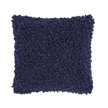 Tom Dixon - Boucle Kissen 45x45cm - blau/45x45cm/Füllung: 95% Entenfedern, 5% Daunen
