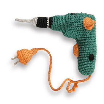 Mini Mechanics Crochet Objects