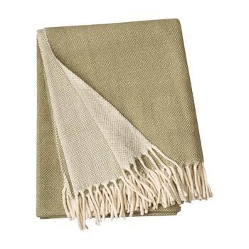 Linum - Bogart Überwurf/Tagesdecke 130x170cm - khakigrün/waschbar bei 40°C