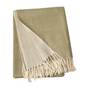- Bogart Überwurf/Tagesdecke 130x170cm - khakigrün/waschbar bei 40°C