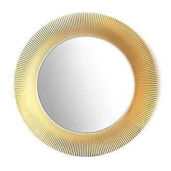Kartell - Kartell by Laufen All Saints Spiegel  - gold/metallic/Ø78cm