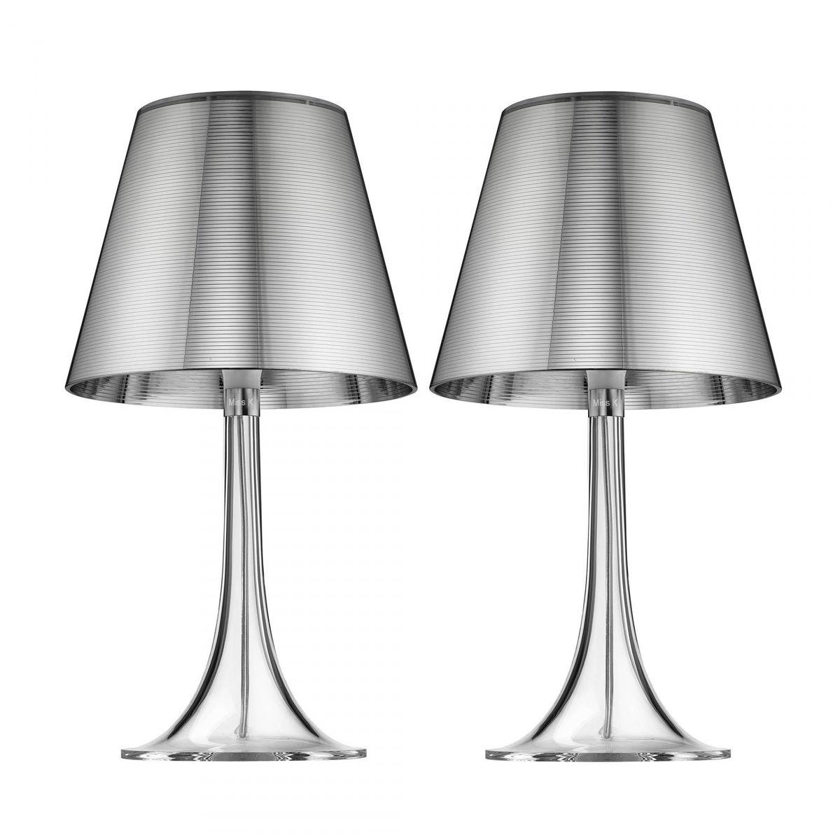 miss k table lamp set flos. Black Bedroom Furniture Sets. Home Design Ideas