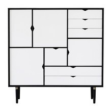 Andersen Furniture - Andersen Furniture S3 Cupboard White Fronts