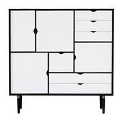 Andersen Furniture - Buffet haut S3 façades blanches