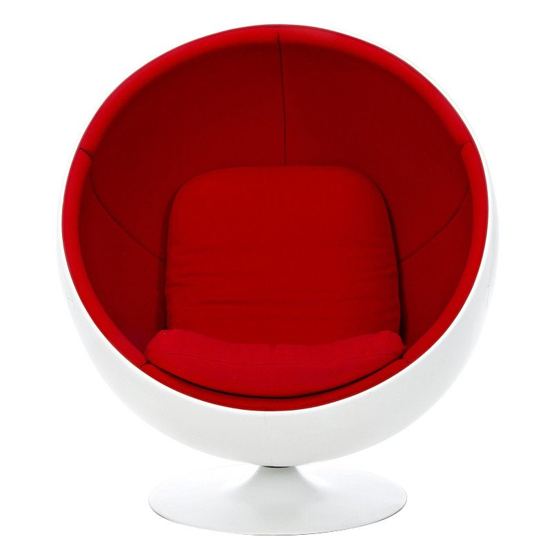 Adelta Ball Chair Lounge Chair | AmbienteDirect