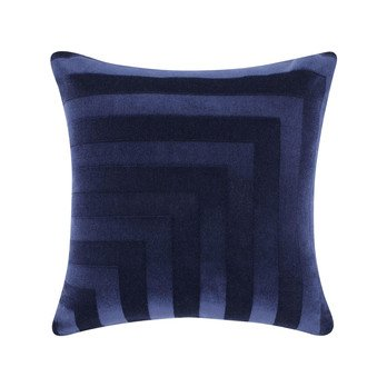 Tom Dixon - Deco Kissen 60x60cm - blau/60x60cm/Füllung: 95% Entenfedern, 5% Daunen