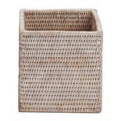 Decor Walther - Basket BOD Behälter ohne Deckel - rattan hell/14x14x14cm
