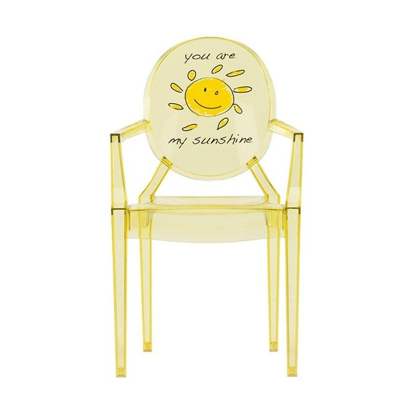 Lou Lou Ghost Children\'s Chair with Motive | Kartell ...