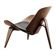 Carl Hansen - Carl Hansen CH07 Shell Chair Lounge Chair