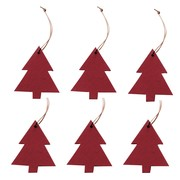 Hey-Sign - Christmas Ornament Christmas Tree 6 pieces