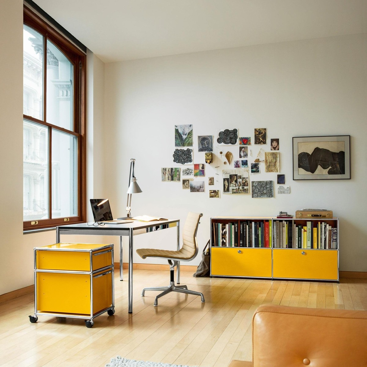 Usm Sideboard With 2 Drawers Usm Haller Ambientedirect Com # Meuble Tv Usm Haller