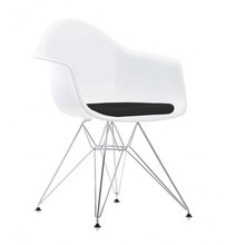 Vitra - Eames Plastic Armchair DAR Upholstered