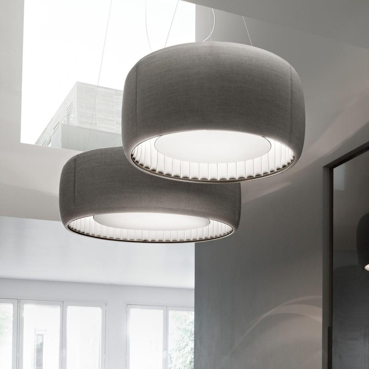 Luceplan Silenzio 120 Suspension Lamp