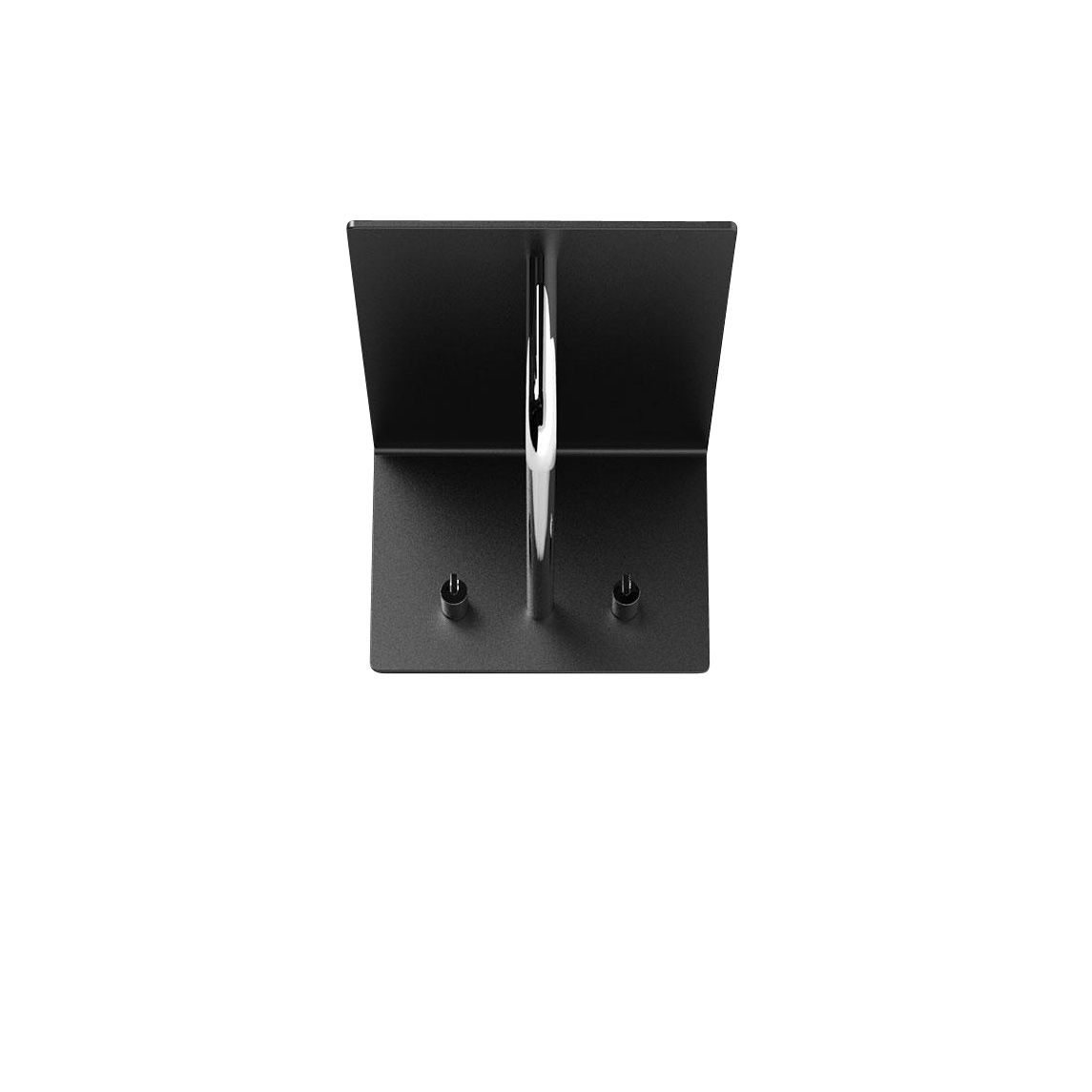 unu wandgarderobe mit 2 haken stange frost garderoben m bel. Black Bedroom Furniture Sets. Home Design Ideas
