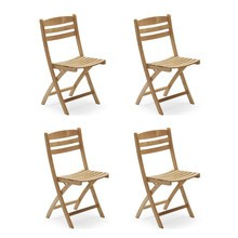 Skagerak - Selandia Garden Chair Set of 4