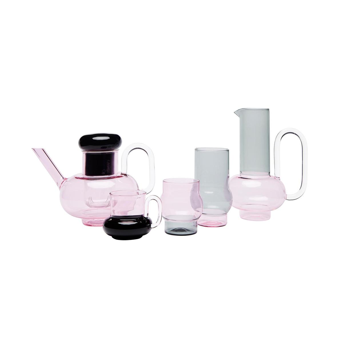 bump glass set of 2 tom dixon. Black Bedroom Furniture Sets. Home Design Ideas