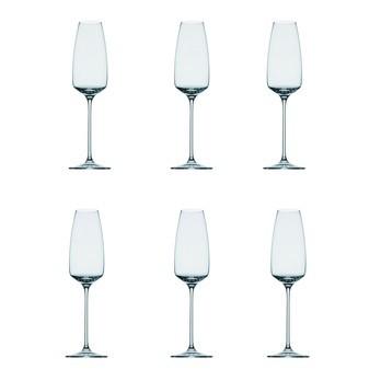 Rosenthal - Rosenthal Tac Champagnerglas Set 6tlg. - transparent/Glas/H: 26,5cm