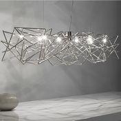 Terzani - Etoile Suspension Lamp 130cm - nickel/glossy
