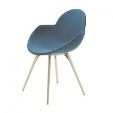 Infiniti - Cookie Stuhl gepolstert mit Holzgestell