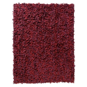 Nanimarquina - Little Field of Flowers Teppich - rot/Filz/Wolle/200x300cm