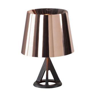 Tom Dixon - Base Tischleuchte - kupfer/glänzend/Gestell schwarz