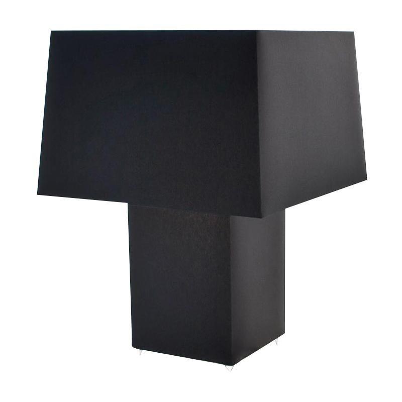 Moooi   Double Square Light Table Lamp   Black/matt