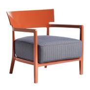 Kartell - Chaise de jardin avec accoudoirs Cara