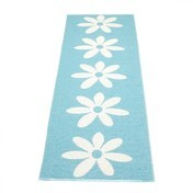 pappelina - Lilo Teppich 70x250cm - verschwommenes blau/vanille