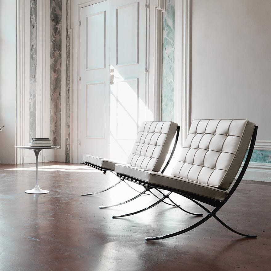 Barcelona mies van der rohe chair knoll international - Silla barcelona mies van der rohe ...