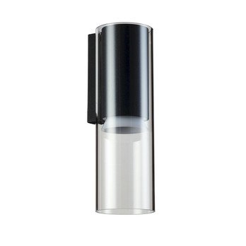 Louis Poulsen - F+P Wandleuchte  - aluminium/schwarz/pulverbeschichtet/3000K 39 lm/W